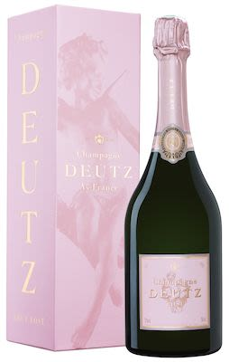 Deutz Brut Rosé 75 cl. - Alc. 12% Vol. In gift box.