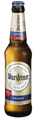 Warsteiner Fresh Alcohol free 24x33 cl. btls.
