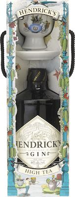 Hendrick's Gin Teatime Pack 100 cl. - Alc. 44% Vol. In gift box.