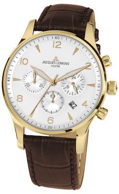 J.L. Gent's Classic London Watch Brown