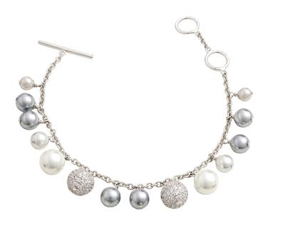 Misaki Darling Rhodium Bracelet