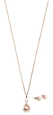 Misaki Feel Rose Gold pendant set