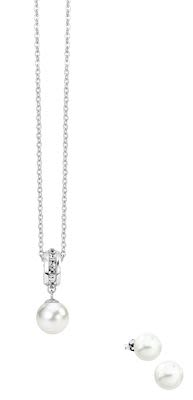 Misaki Pulse white pendant set