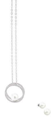 Misaki Tease white pendant set