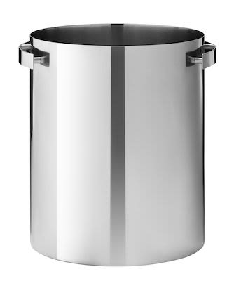 AJ champagne cooler - steel
