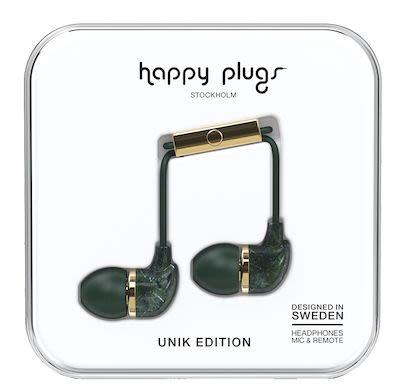 Happy Plugs Unisex Green In-ear headphones