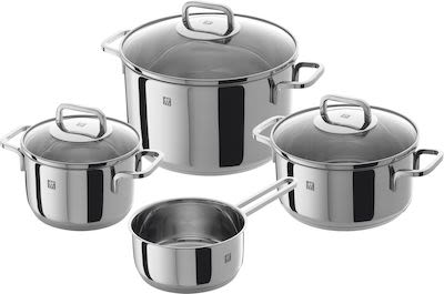 Zwilling 7-pcs Quadro Cookware Set