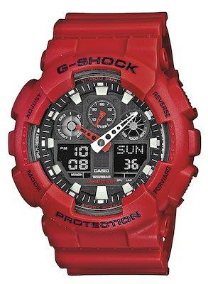 Casio G-Shock Gent's Red Watch