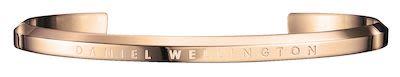 Daniel Wellington Unisex Classic Rose Gold Cuff Bracelet