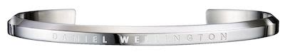 Daniel Wellington Unisex Classic Stainless Steel Cuff Bracelet