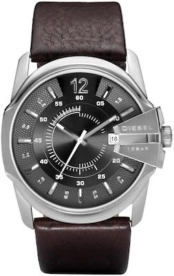 Diesel Gent's Diesel Chief Series Silver Watch