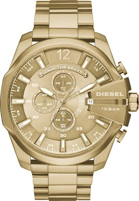 Diesel Gent's Diesel Chief Series Gold Watch
