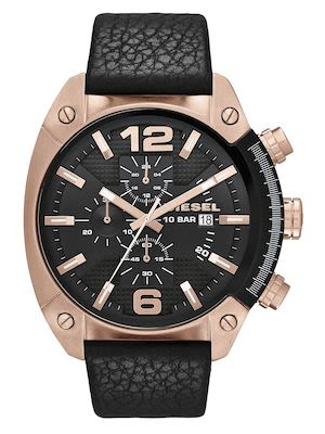 Diesel Gent's Overflow Rose Gold Watch