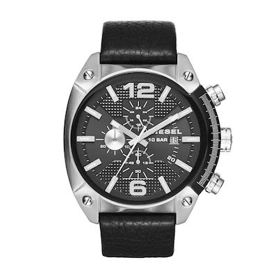 Diesel Gent's Overflow Silver Watch