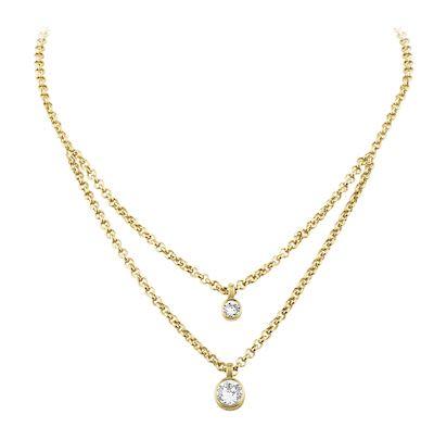 Dyrberg Kern Ladies' Fulli Gold Necklace