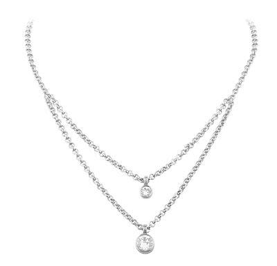 Dyrberg Kern Ladies' Fulli Silver Necklace