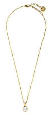 Dyrberg Kern Ladies' Solitaire Gold Necklace