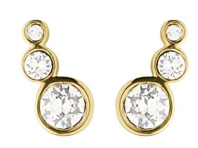 Dyrberg Kern Ladies' Lini Gold Earrings