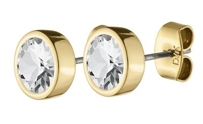 Dyrberg Kern Ladies' Noble Gold Earring