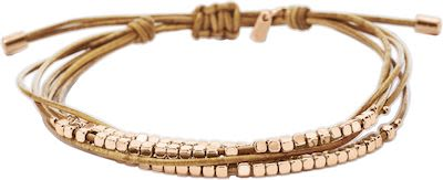 Fossil Ladies' Fashion Rose Gold Bracelet