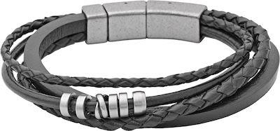 Fossil Gent's Vintage Casual Steel Bracelet