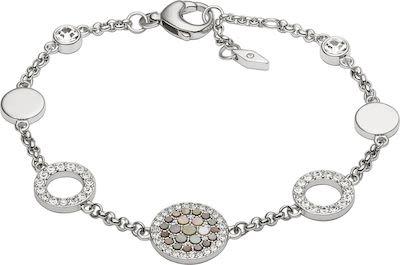 Fossil Ladies' Vintage Glitz Steel Bracelet