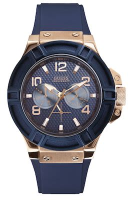Guess Gent's Blue Watch