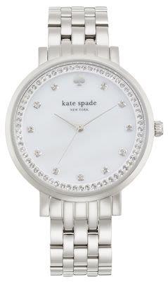 Kate Spade Ladies' Monterey Silver Watch