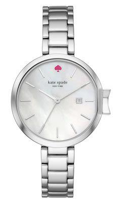 Kate Spade Ladies' Park Row Silver Watch