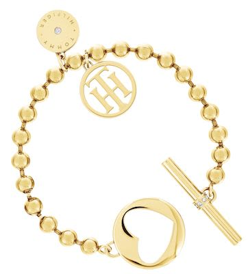 Tommy Hilfiger Ladies' Yellow Gold Bracelet