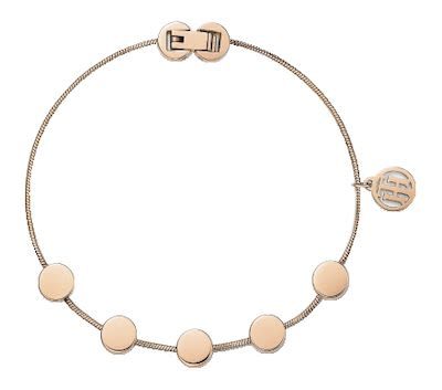 Tommy Hilfiger Ladies' Rose Gold Bracelet