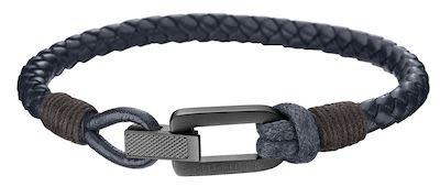Tommy Hilfiger Gent's Blue Leather Bracelet