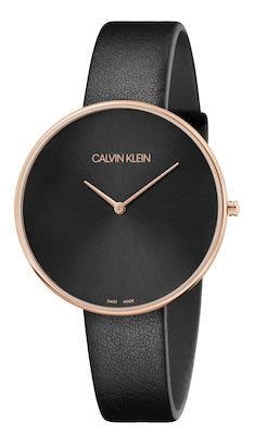Calvin Klein Ladies' Fullmoon Watch Black