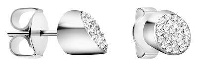 Calvin Klein Ladies' Brilliant Earrings Silver