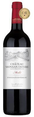 Château Monsan Estebe Bordeaux Supérieur 75 cl. - Alc. 13,5% Vol.