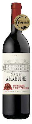 Château Amandine Montagne Saint Emilion 75 cl. - Alc. 13,5% Vol.