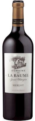 Domaine de la Baume Merlot Pays d'Oc 75 cl. - Alc. 14,5% Vol.