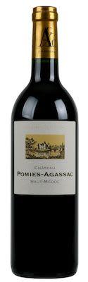 Château Pomies Agassac Haut Médoc 75 cl. - Alc. 13% Vol.