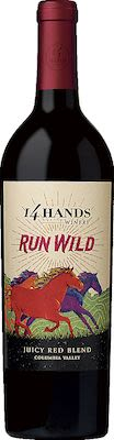 14 Hands Run Wild Juicy Red Blend 75 cl - Alc. 13,50% Vol.