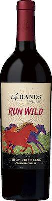 14 Hands Run Wild Juicy Red Blend 75 cl - Alc. 13,50% Vol.
