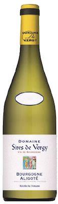 Domaine Des Sires de Vergy Bourgogne Aligoté 75 cl. - Alc. 12,5% Vol.
