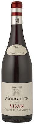 Domaine Mongillon Côtes du Rhône Villages Visan rouge 75 cl. - Alc. 13,5% Vol.