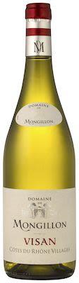 Domaine Mongillon Côtes du Rhône Villages Visan Blanc 75 cl. - Alc. 13,5% Vol.