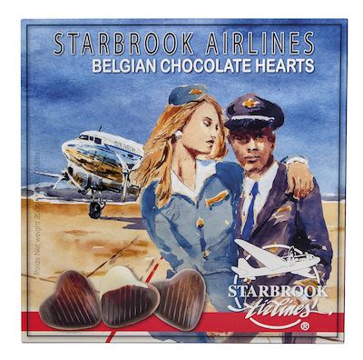 Starbrook chocolates hearts 200g