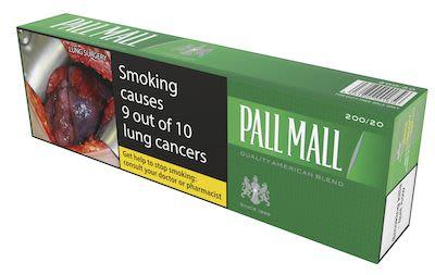 Pall Mall Green BC 200 pcs