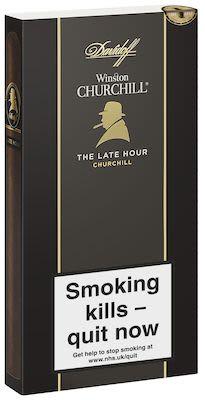 Davidoff Winston Churchill Late Hour 4 pcs