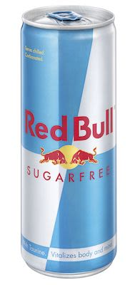 Red Bull Sugarfree 24x25 cl. cans.