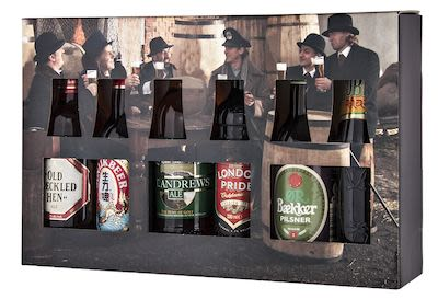 Taste of the World 6x33 cl. blts. - Alc. 5.20% Vol. In gift box.