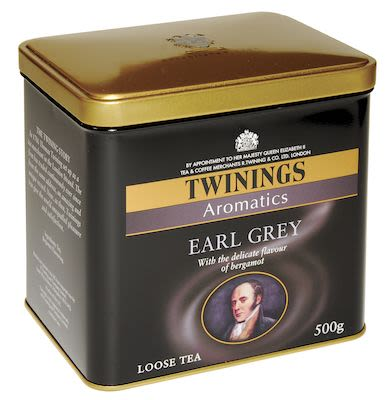 Twinings Earl Grey in tin 500g