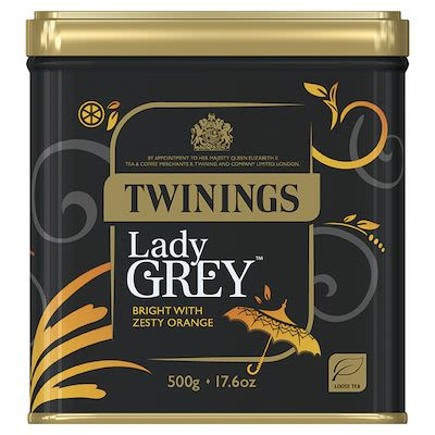 Twinings Lady Grey in tin 500g